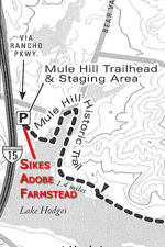 Mule Hill Trail Segment